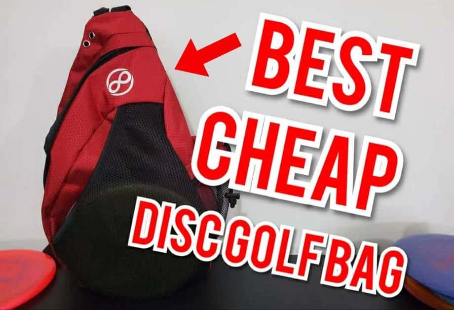 Best cheap disc golf bag