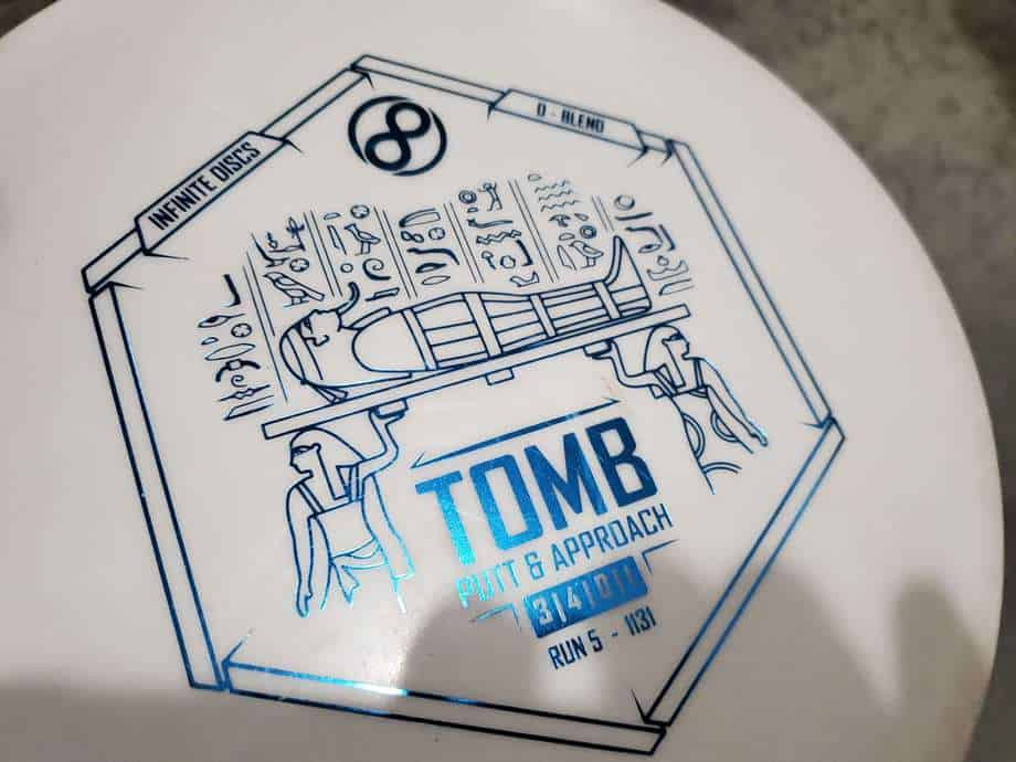 infinite discs tomb putter disc review